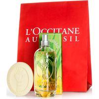 L'Occitane Presente Fragrância Capim-Limão Gengibre