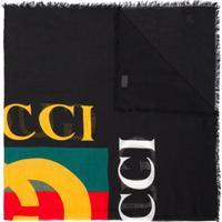 Gucci Echarpe Com Logo - Estampado