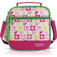 Lancheira Tã©Rmica Infantil Flor Jacki Design Sapeka Pink - Rosa - Menina - Dafiti