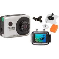 Câmera Filmadora Vivitar De Ação Full Hd Dvr786 Vivitar Kit P/ Surf
