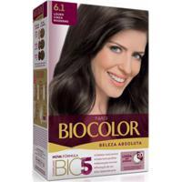 Tintura Biocolor Kit Creme 6.1 Louro Cinza Moderno