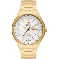 Relógio Orient 3 Estrelas Automático 469Gp065S1Kx - Masculino-Dourado