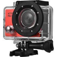 Câmera De Ação Lcd Action Full Hd 1080P Átrio Dc190 2 Pol 12Mp