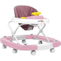 Andador Para Bebê Com Bandeja Musical Styll Baby - Unissex-Incolor