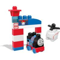 Blocos De Montar - Mega Bloks - Thomas & Friends - Thomas E Harold - Fisher-Price - Unissex-Incolor