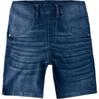 Bermuda Azul Maternidade Jeans
