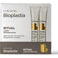 Kit Creme Reconstrutor Lowell Bioplastia 12 Ampolas - Feminino-Incolor