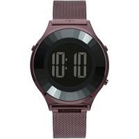 Relógio Digital Technos Crystal Feminino - Feminino-Roxo