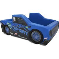 Cama Carro Camionete Sport Azul