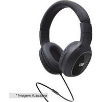 Headphone Com Inscrição- Cinza Escuro- 18X17X7Cmi2Go