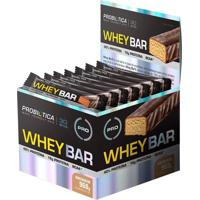 Whey Bar - 24 Unidades (1Cx.) - Probiótica - Cookies