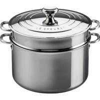Espagueteira 3-Ply Aço Inox 26 Cm Le Creuset