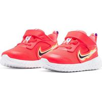 Tênis Infantil Nike Revolution 5 Fire - Unissex-Vermelho+Amarelo