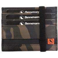 Carteira Bennemann Mini Com Elástico Militar 19 Verde
