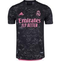 Camisa Real Madrid Iii 20/21 Adidas Jogador - Masculina - Preto