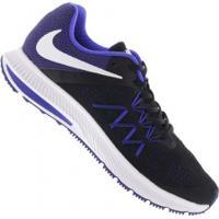 Tênis Nike Zoom Winflo 3 - Masculino - Preto/Azul