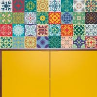 Adesivo Azulejos Modernos 16 (15X15Cm)