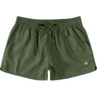 Shorts Verde Running Com Refletivo