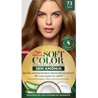 Tintura Soft Color Sem Amônia Avelã 73 Kit