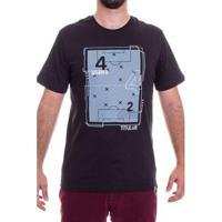 Camiseta 4-4-2 Esquema Tatico Masculina - Masculino