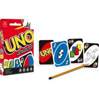 Jogo De Carta Uno Copag Com Cartas Para Personalizar Multicolorido