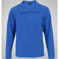 Blusa De Frio Fleece Nord Outdoor Basic - Masculina - Azul