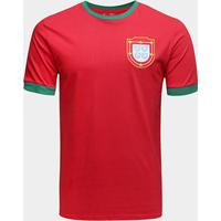 Camiseta Portugal 1966 Retrô Times Masculina - Masculino 5eb0c798ccf49