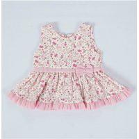 Vestido Infantil Floralzinho Rosa