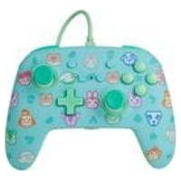 Controle Power-A Com Fio Nintendo Switch Animal Crossing
