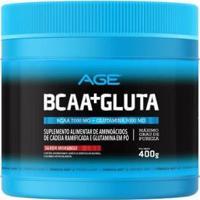 Bcaa + Glutamina 400G Age - Unissex