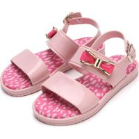 Sandália Pimpolho Menina Colore Rosa