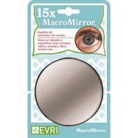 Espelho De Aumento 15Xcom Ventosa Evriholder 9Cm - 3031431