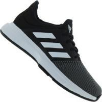 Tênis Adidas Gamecourt - Masculino - Preto/Cinza Esc