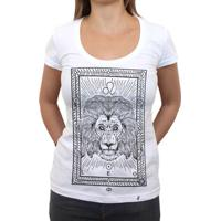 Leo - Camiseta Clássica Feminina