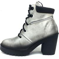 Bota Atron Shoes Super Estilo Prata 9405