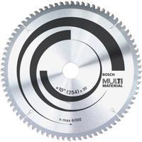 """Disco Corte Multimaterial Para Serra Circular Bosch 10"""", 100 Dentes - 642202"""