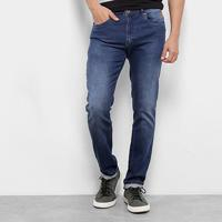 Calça Jeans Skinny Cavalera Henri Estonada Masculina - Masculino-Jeans