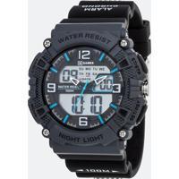 Relógio Masculino Xgames Xmppa252-Bxpx Analógico/Digital 10Atm