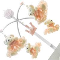 Móbile Musical Ursa Princesa Com 4 Enoy Salmão