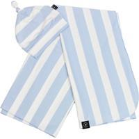 Kit Penka & Co. Cueiro E Gorro Baby Essentials Azul