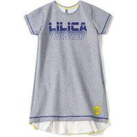 Vestido Lilica Ripilica Infantil - 10111594I Cinza