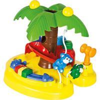 Brinquedo Calesita Ilha Da Palmeira Multicolorido