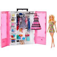 Boneca Barbie Fashionistas Closet Luxo Com Boneca - Mattel