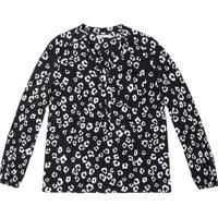 Blusa Floral- Preta & Brancahering