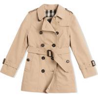 Burberry Kids Trench Coat 'The Sandringham' - Neutro