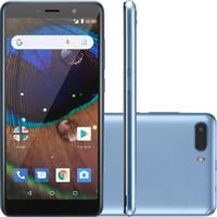 Smartphone Multilaser Ms50X 16Gb Desbloqueado Azul