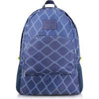 Mochila Dobrã¡Vel- Azul Escuro & Azul- 42X30X13Cmjacki Design
