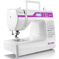 Máquina De Costura Jx10000 Premium Bivolt- Elgin - Branco