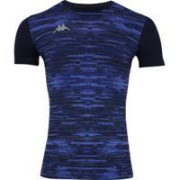 Camisa Térmica Kappa Jenner - Masculina - Azul Esc/Azul