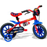 Bicicleta Homem Aranha Aro 12 - Caloi